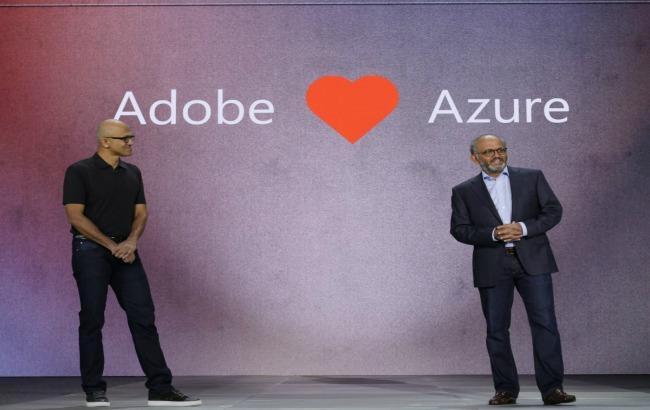 Фото: Adobe і Microsoft оголосили про співробітництво у сфері хмарних технологій (forbes.com)