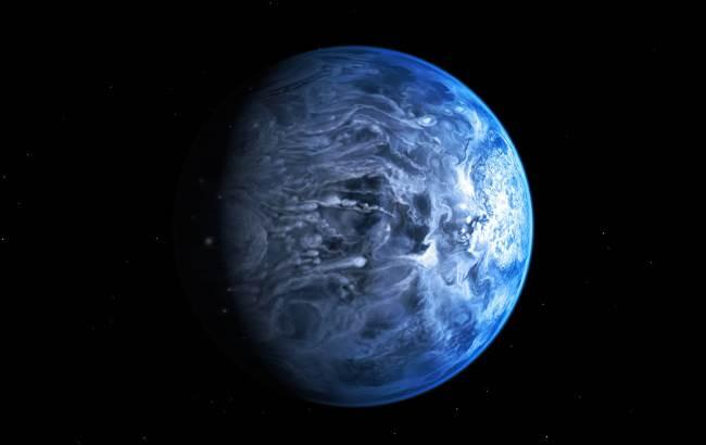 Фото: Планета зі скляними дощами (nasa.gov)