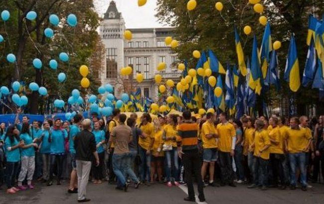 Фото: численность населения Украины сократилась