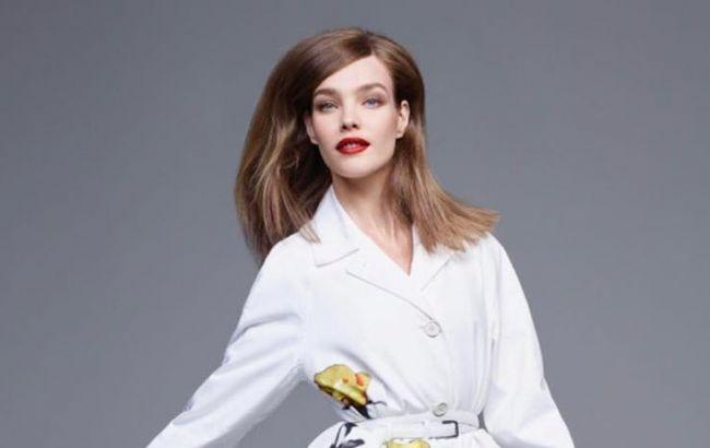 Готовится к свадьбе? Наталья Водянова красуется в белоснежном платье и с ярким макияжем
