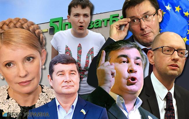 Украинские политики в 2016 году регулярно устраивали войну компроматов