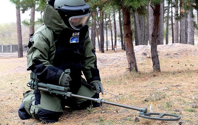 Пиротехники обнаружили практически 2,9 тыс. взрывоопасных предметов вокруг арсенала под Винницей