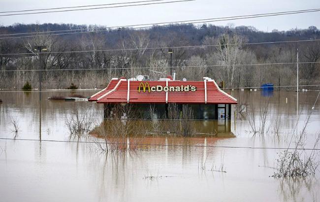 Фото: повінь у США (Assosiated Press)
