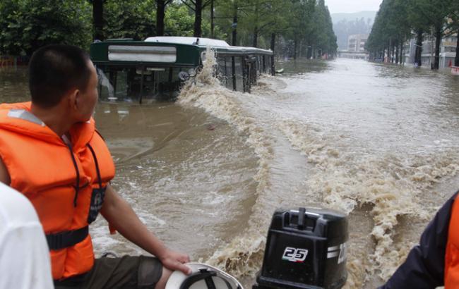 Фото: наводнение в Северной Корее