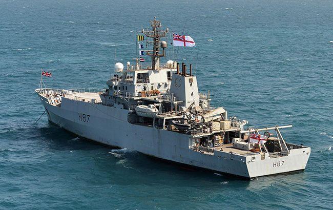 В Черное море вошел корабль-разведчик ВМС Великобритании