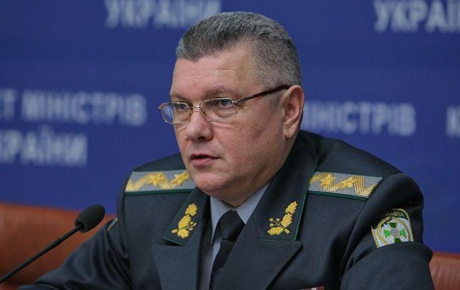 Фото: голова Держприкордонслужби України Віктор Назаренко