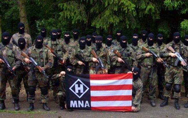 """Фото: неонацистський рух """"Національний фронт"""""""