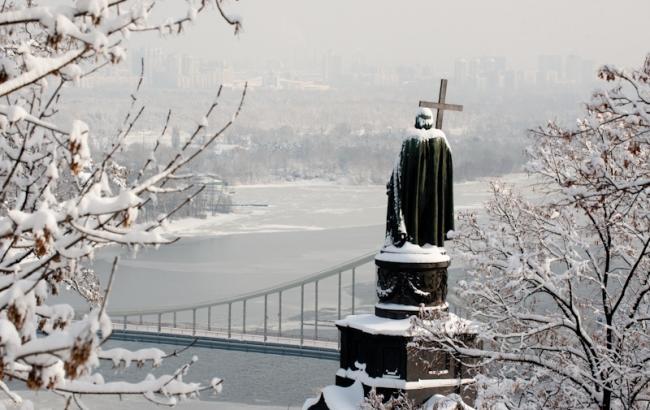 Фото: Киев в снегу (kievvlast.com.ua)