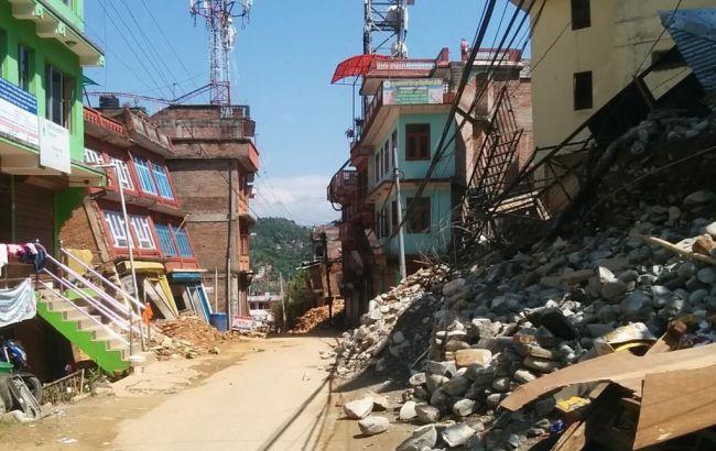 Фото: последствия землетрясения в Непале
