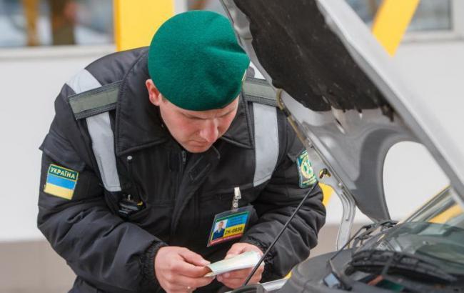 Фото: украинские пограничники в зоне АТО