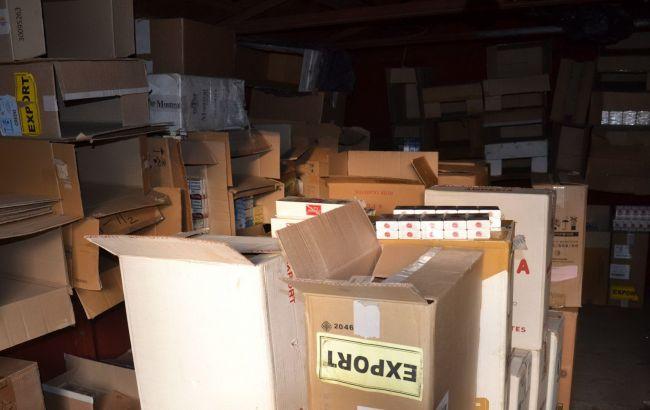 Пограничники выявили в Мариуполе контрабанду сигарет на 2 млн гривен