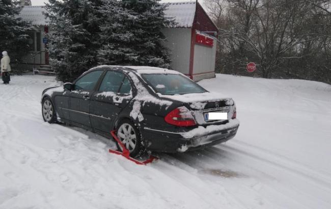 Фото: обнаруженное авто