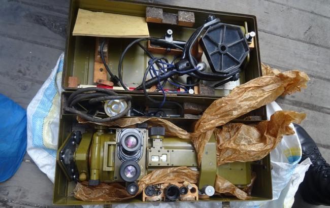 Фото: изъятое оборудование (пресс-центр ГПСУ)