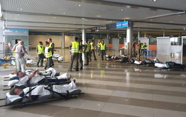 Фото: раненые военные (dpsu.gov.ua)