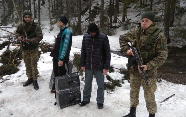 На границе с Румынией пограничники помешали 2 попыткам контрабанды сигарет