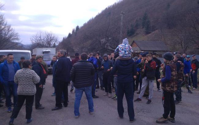У Закарпатській обл. сталися сутички між прикордонниками та місцевими жителями
