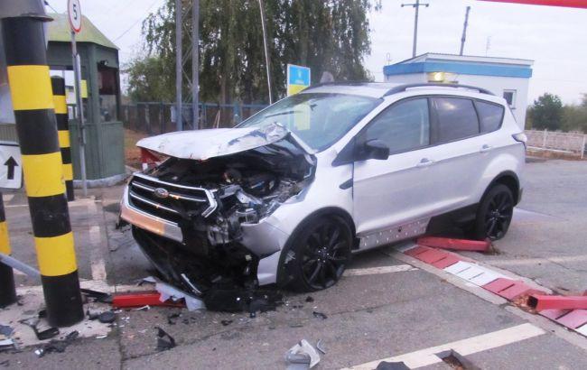 У Чернігівській області водій намагався прорвати кордон з Білоруссю