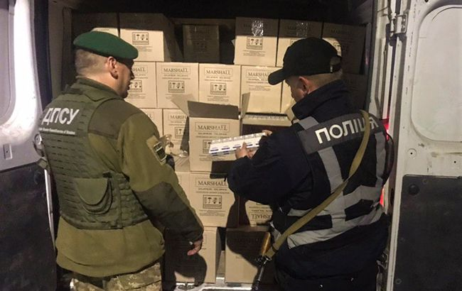 У Закарпатській області виявили партію контрабандних сигарет