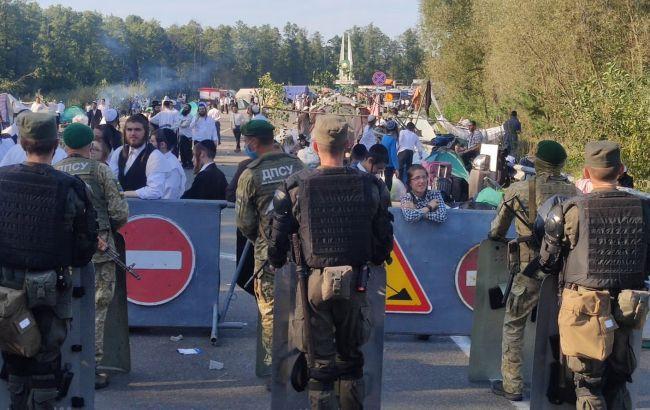 Застряглі на кордоні хасиди відсвяткують Рош ха-Шана в Білорусі