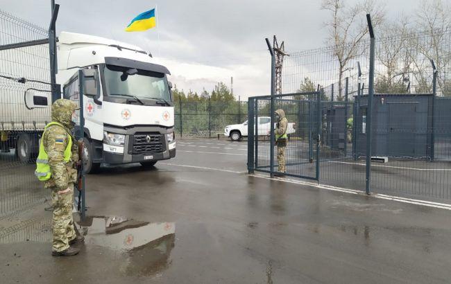 Більше 100 тонн продуктів: на Донбас доставили чергову гуманітарну допомогу