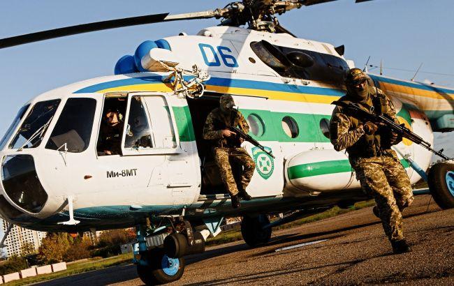 Пограничники с помощью авиации усилили патруль госграниц в Одесской области