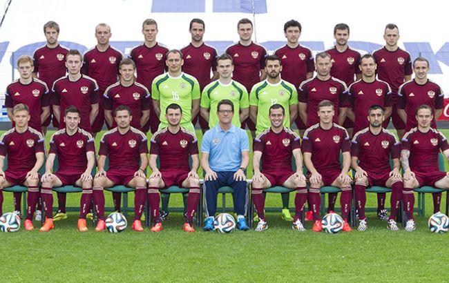 Фото: збірна РФ по футболу зразка 2014 року (прес-служба РФС)