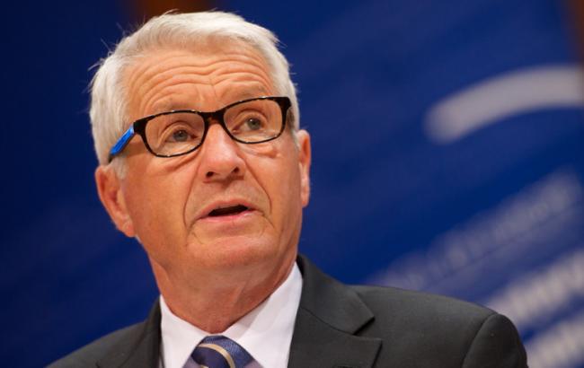Фото: генеральный секретарь Совета Европы Турбьерн Ягланд
