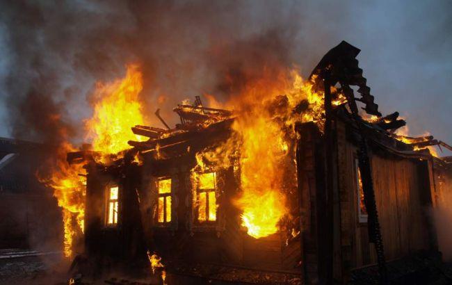 Фото: в Винницкой области сгорел частный жилой дом