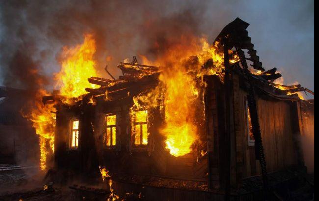 ВРовенской области двое маленьких детей сгорели при пожаре