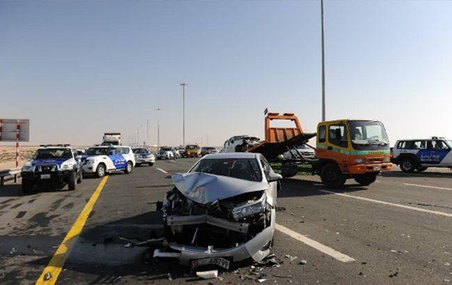 В ОАЕ сталося ДТП за участю 44 автомобілів, десятки постраждалих