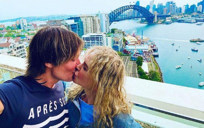 Почуття зашкалюють: Ніколь Кідман схвилювала мережу пристрасними фото з обожнюваним чоловіком