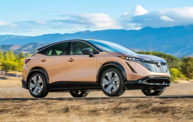 Майже вдвічі дорожче Leaf: стали відомі ціни на новий електричний кросовер Nissan Ariya