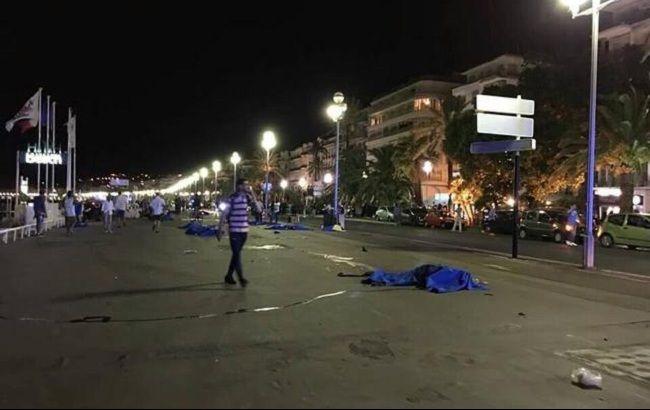 Фото: теракт во Франции