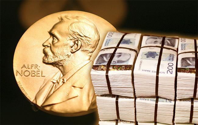 Розмір Нобелівської премії вперше зачотири роки перевищить $1 млн