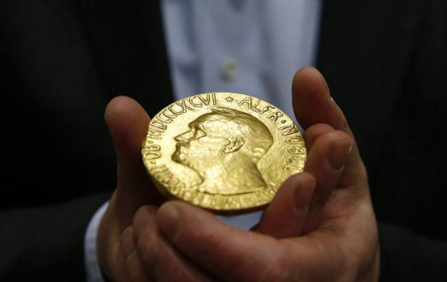 Фото (Associated Press): Нобелівська премія