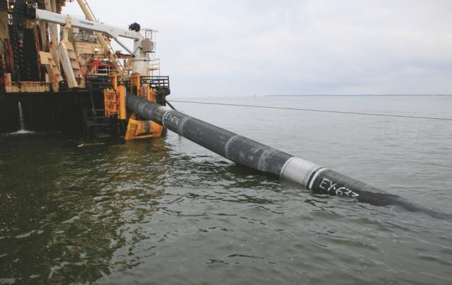 Фото: строительство нефтепровода