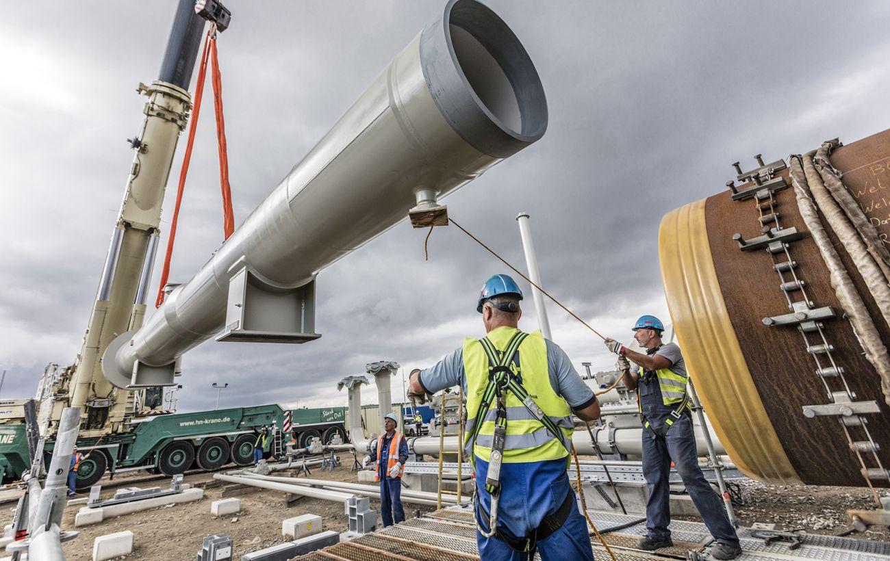 """США ввели санкции против судна, которое строит """"Северный поток-2"""""""