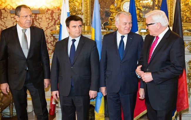 Первая за полгода встреча министров иностранных дел стран Нормандской четверки результатов не принесла
