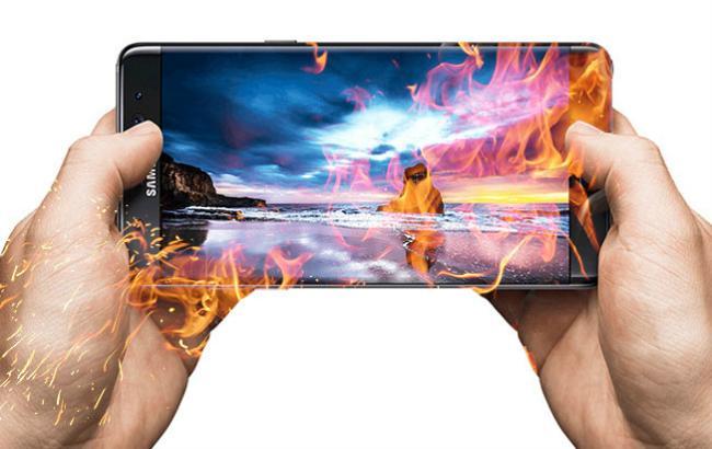 Фото: Samsung нарушила правила при тестировании аккумуляторов Galaxy Note 7