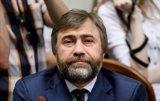 Вручення Новинському повістки до МВС. Відео
