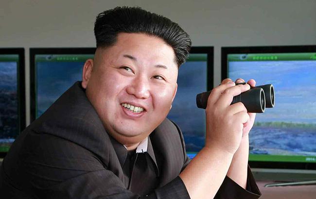 Фото: глава КНДР Ким Чен Ын (KCNA)
