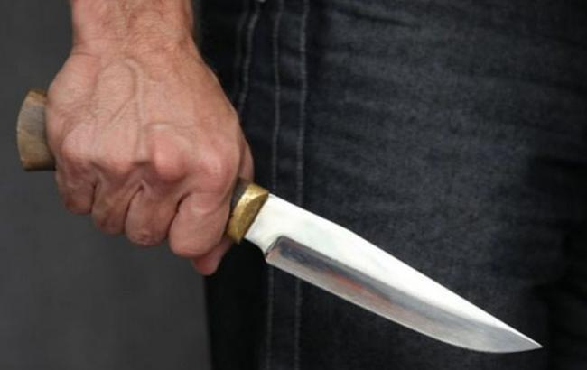 Фото: Напад з ножем (facebook.com)