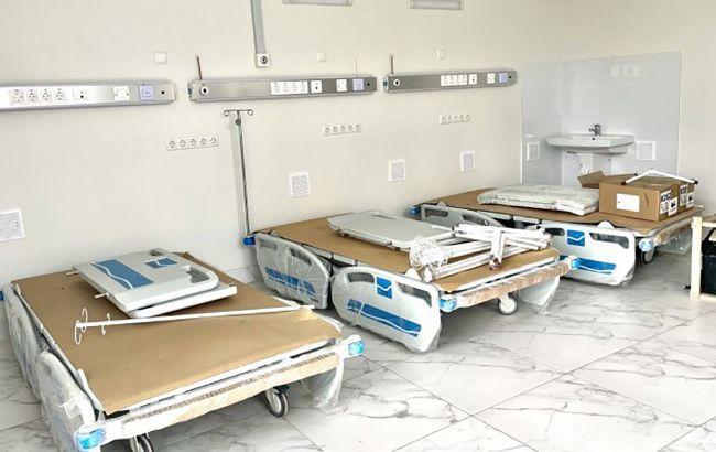 Харьковская ОГА выделила 1 млн грн на ремонт отделения больницы, об открытии которого уже отчиталась