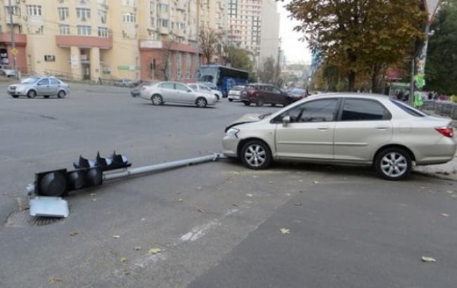 Фото: На місці ДТП (kyiv.npu.gov.ua)