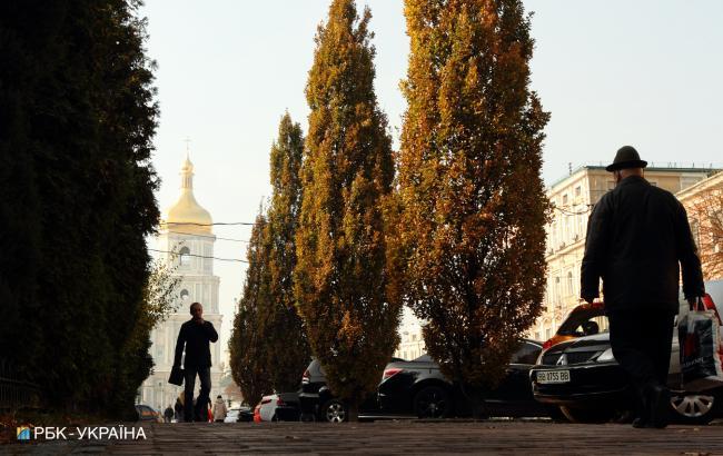 Фото: Осень: (Виталий Носач, РБК-Украина)