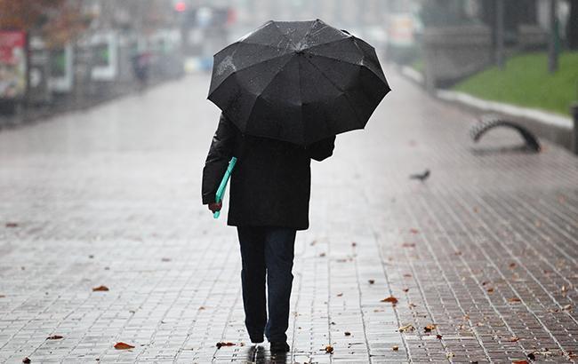 Погода на сьогодні: в Україні переважно дощі, температура до +13