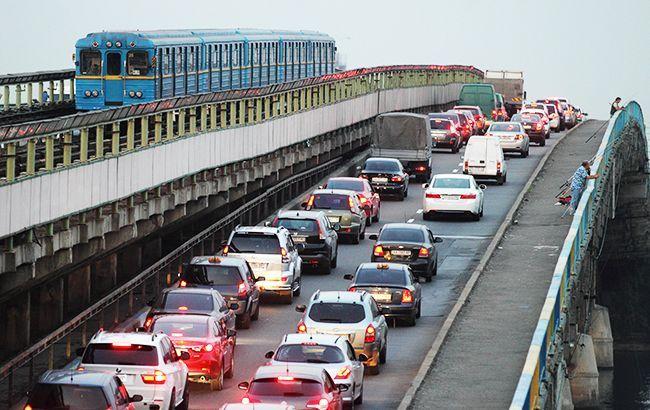 Київ зупинився в пробках