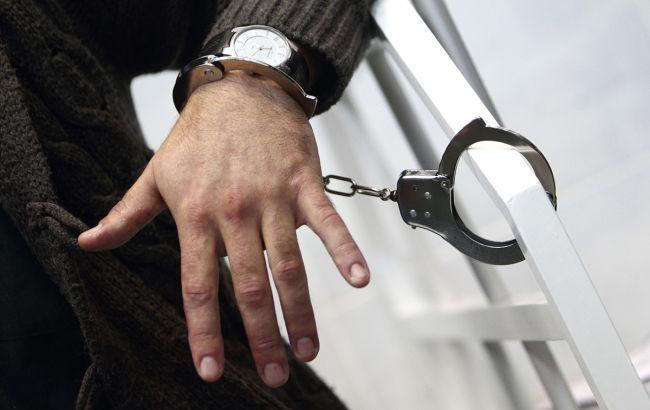 Фото: задержание (РБК-Украина)