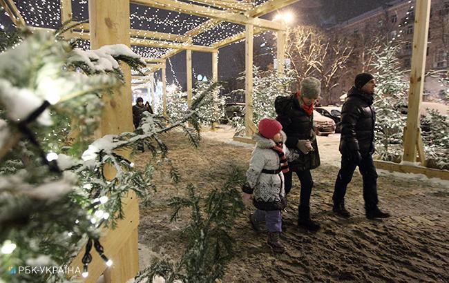 Фото: новогодние праздники (РБК-Украина)