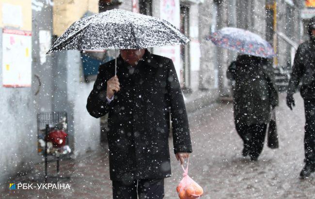 Штормовий вітер і мокрий сніг у найближчі два дні. Які регіони накриє негода